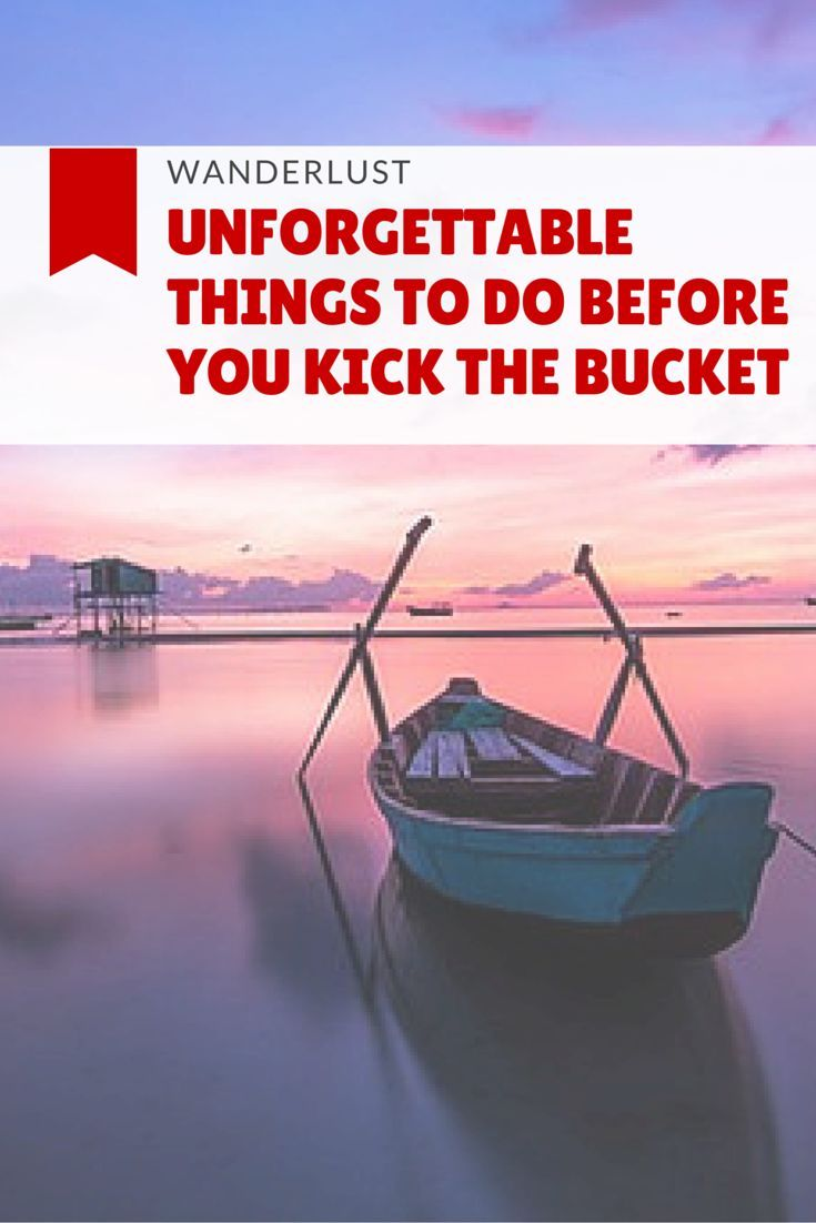 Working on your bucket list? Have great ideas or still looking for some? I completed my first Bucket list in 2014, and decided to create a new one!