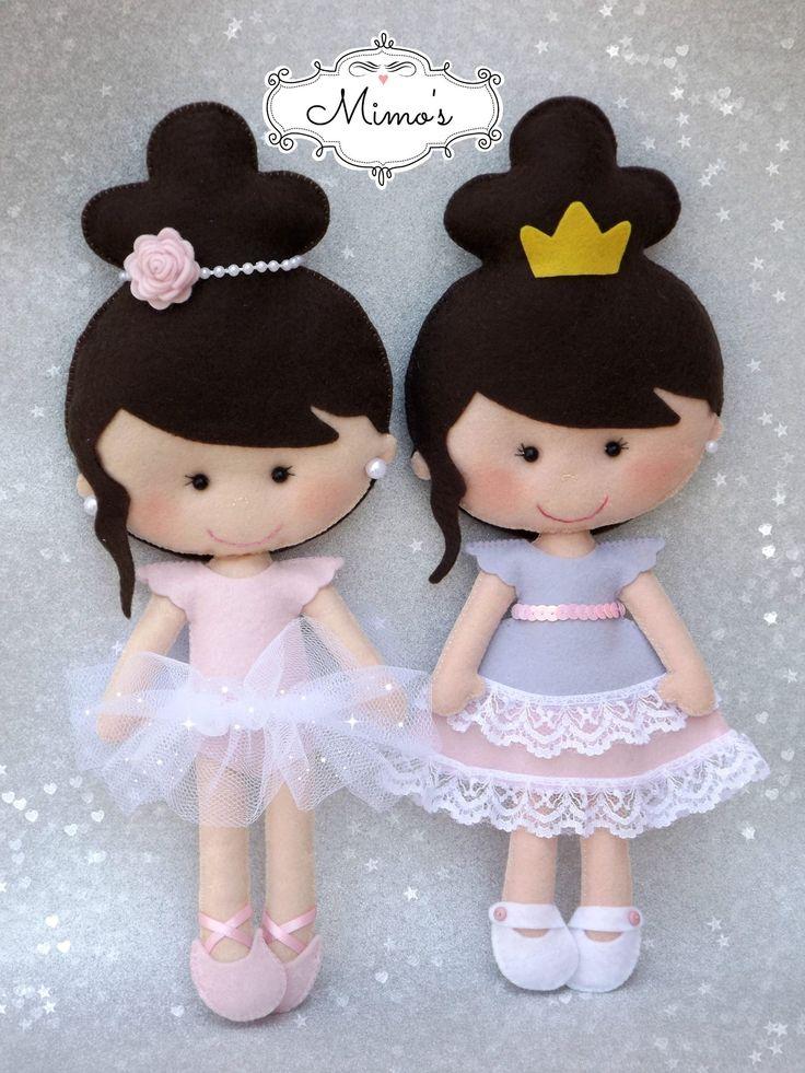 Doll with bun