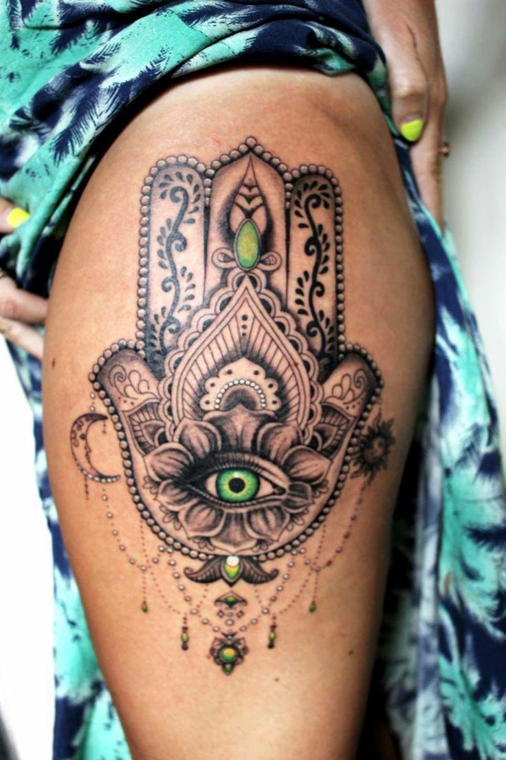 25 melhores ideias de projeto do tatuagem hamsa no. Black Bedroom Furniture Sets. Home Design Ideas