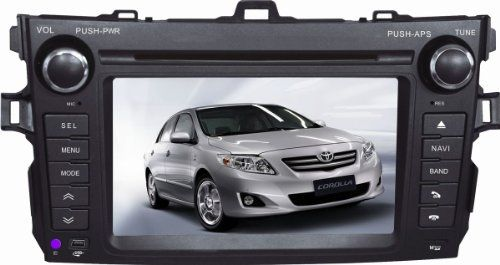 Hot New Release! AutoABC for Toyota Corolla 2009 2010 2011 in Dash 7 Inch GPS Navigation System (Free Map) DVD Player with Bluetooth Radio Video Ipod TV - Attention: This item is compatible with Toyota Corolla 2009 2010 2011 The UI (screen of the mac