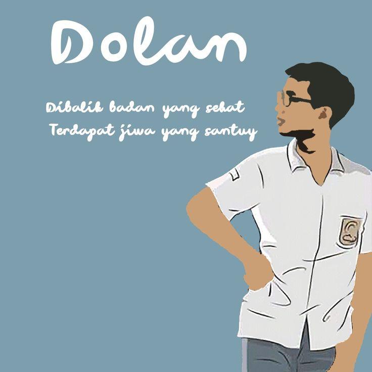 Dolan Quotes Santuy Editing Photoshop Design