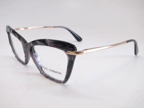 6743eb6cae9 Details about Authentic Dolce   Gabbana DG 5025 504 Transparent Grey ...