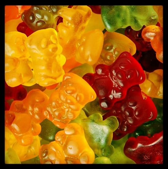 What's your favourite #gummibears flavour? They're great mixed in with your #soyonz #froyo :)