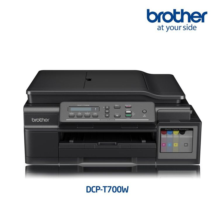 Printer Inkjet BROTHER DCP-T700W Print, Scan, Copy & Wifi with ADF