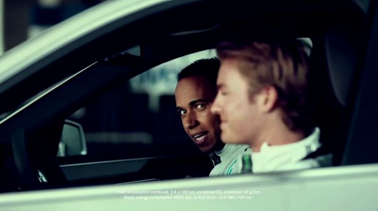 Mercedes-Benz Commercial With Nico Rosberg And Lewis Hamilton (VIDEO)