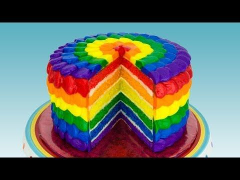Rainbow Cake - To view our full Colour Splash range, please visit http://www.craftcompany.co.uk/colour-splash.html