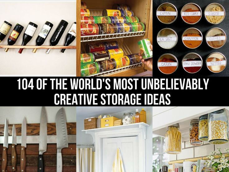 104 Of The World's Most Unbelievably Creative Storage Ideas