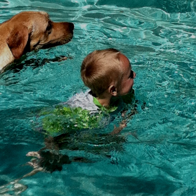 Best friends swimming. #LifeProofBlueFriends Swimming, Best Friends, Families Time