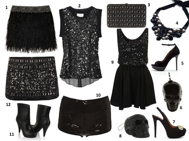 glam fashion for the holidays <3