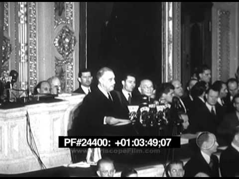 President Roosevelt's speech the day after Pearl Harbor.  CC Cycle 2, History week 17