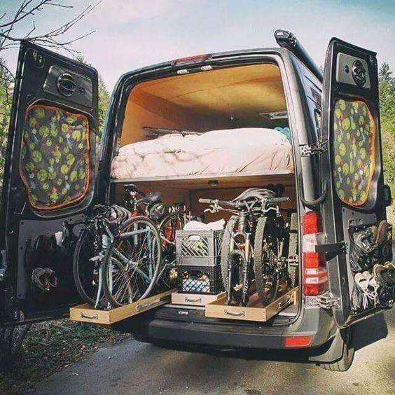 2018 Freightliner Sprinter 2500 Cargo Interior: 72 Best RV & Bikes Images On Pinterest