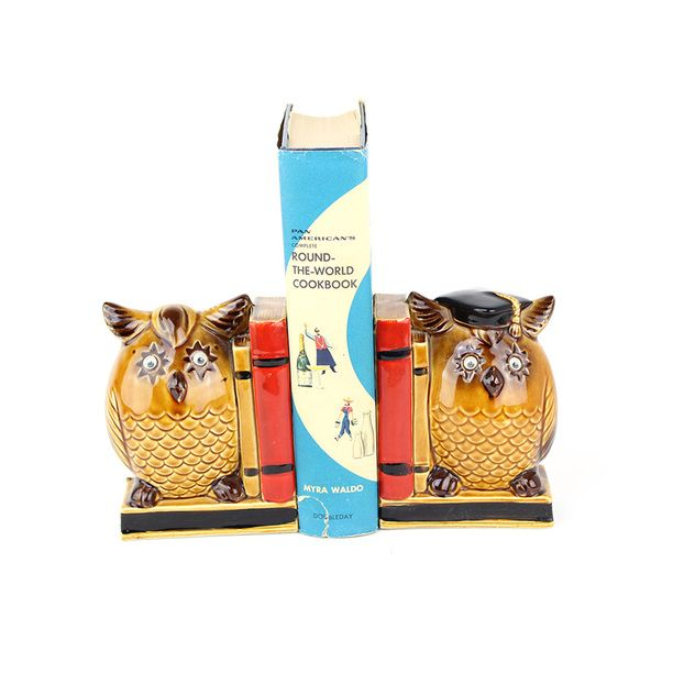 Owl Stuff For The Home Part - 34: #Owl #Book #Ends Brown, Home Accents, Bookends