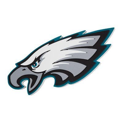FoamFanatics NFL 3D Foam Wall Décor NFL Team: Philadelphia Eagles
