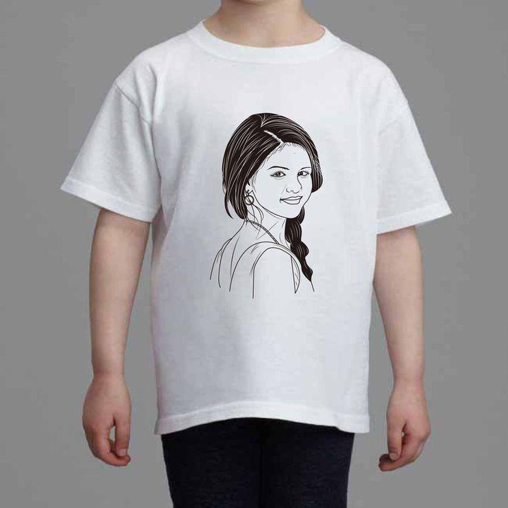 Selena Gomez Revival Kids White Tee (Unisex) // Babes & Gents // www.babesngents.com