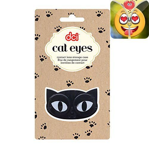 #wow These cat #eyes are will keep an eye on your #contact lenses. For use with hard and soft contact lenses. Easily identify left and right lenses. Features twis...