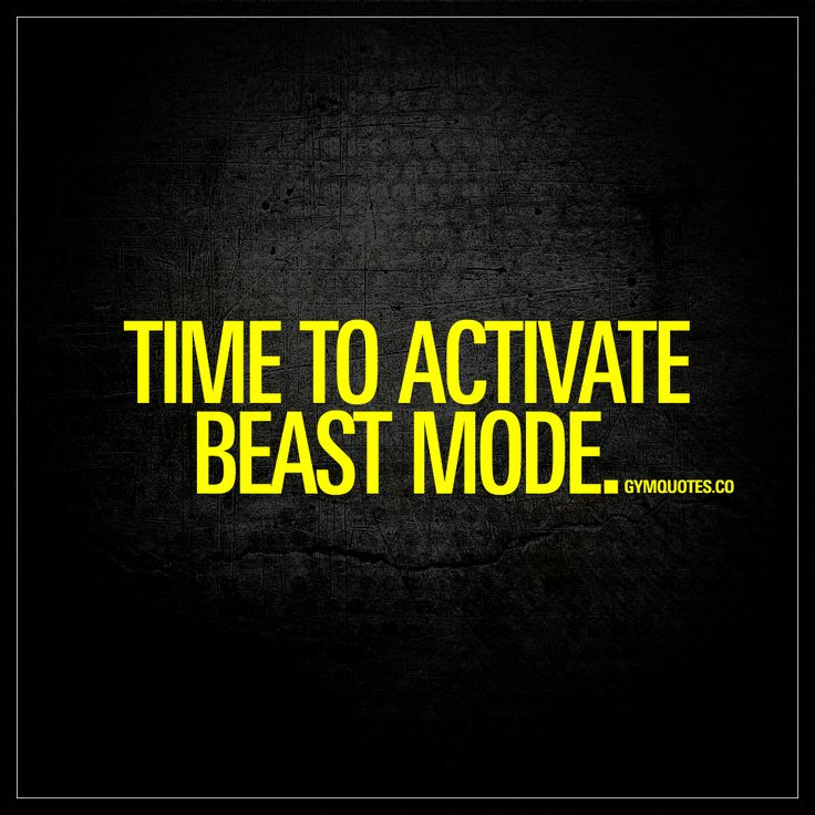 """Time to activate beast mode."" Enjoy the worlds best quotes about going beast mode on gymquotes.co!  Awesome ! We're proud you want it ! Lets know if in case you have problems anyway , we're happy tosupport : ) Here's my shop ==> https://etsytshirt.com/gym  #gymlovers #fitnesslovers"