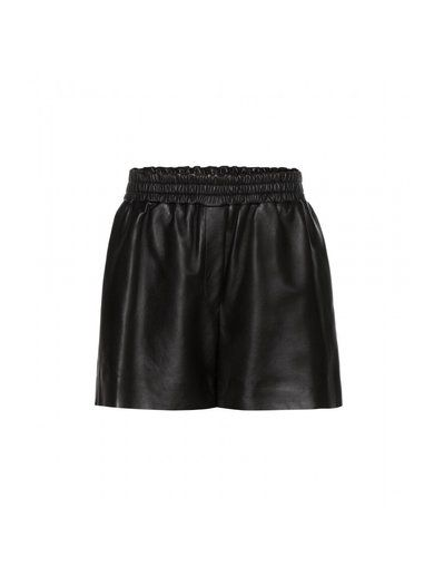 Salt Light Leather Shorts www.sellektor.com