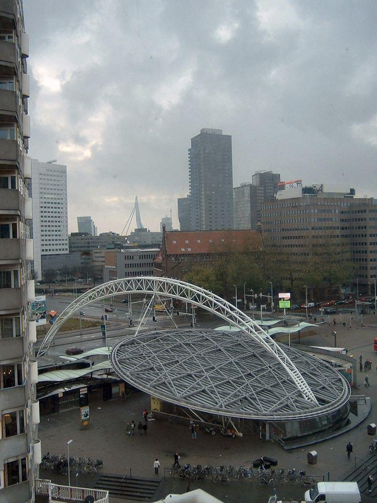 Station Rotterdam-Blaak, The Netherlands