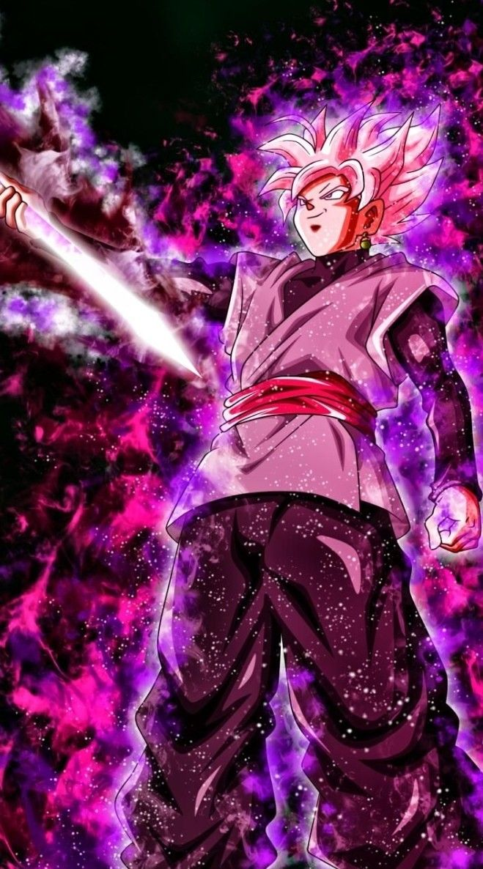 Goku Black Ssj Rose Goku Wallpaper Anime Dragon Ball Super Goku Wallpaper Iphone