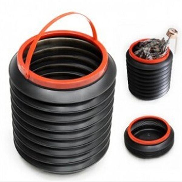 Collapsible Garbage Can For Camping Garbage Can Trash Can Trash Cans