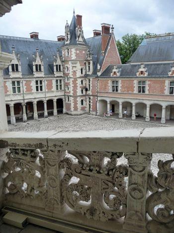Aile Louis XII du chateau de Blois - Loire Valley - France