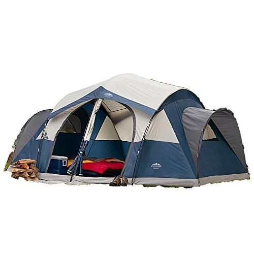 8 Person Tent This Family Northwest Territory Instant Dome Canopy Is Lightweight Portable  Waterproof Best For Outdoor Activites Like Hiking Camping Backpacking Beach Sports Fishing  Hunting >>> Be sure to check out this awesome product.