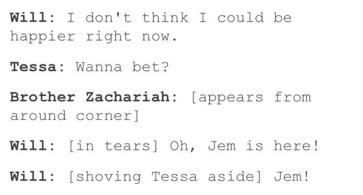 Lol I could totally see this  The Infernal Devices Heronstairs