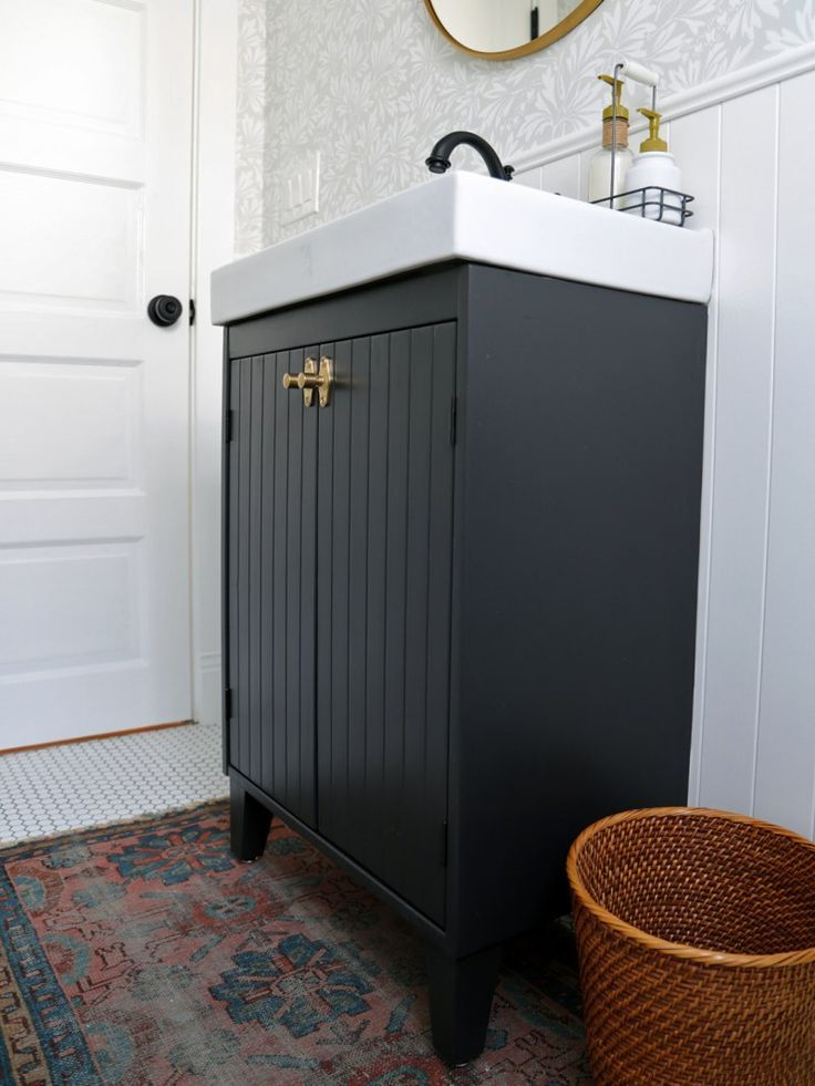 10 Ikea Hacks That Were Made For Small Bathrooms Ikea Bathroom Ikea Bathroom Vanity Ikea Vanity