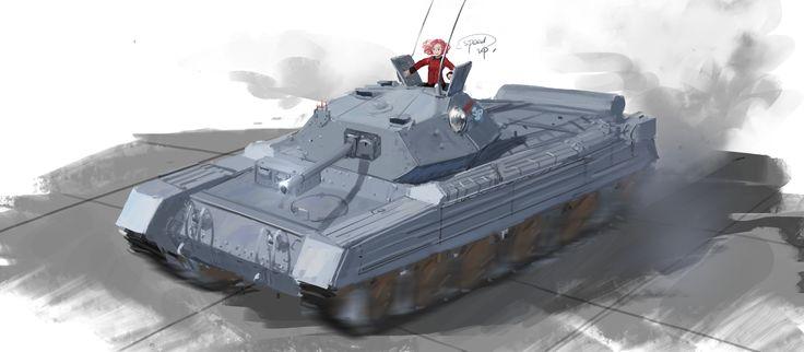 「A15 crusader」/「Xx_sidneySORA」のイラスト [pixiv]