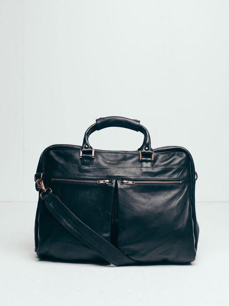 The New Yorker Work Bag - black
