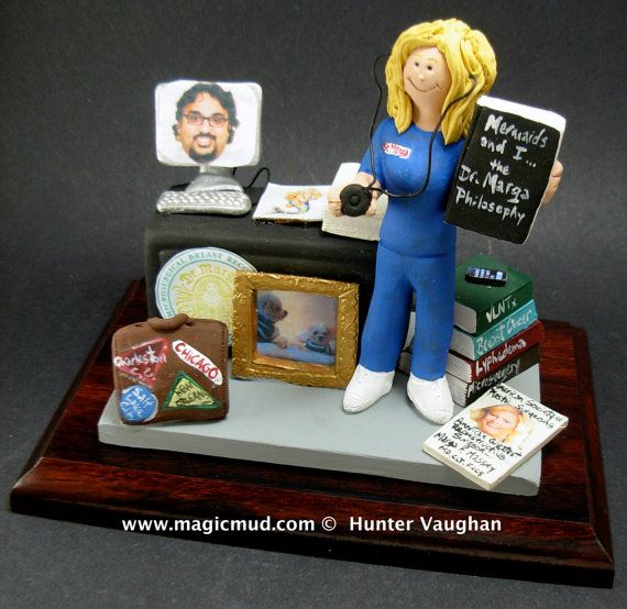 Reconstructive Surgeon's Figurine  www.magicmud.com    1 800 231 9814    magicmud@magicmud.com $225  Personalized #Medical Gift Figurines, custom created just for you!    Perfect present for all #Doctors, a  heartfelt gift for birthdays, graduations, anniversaries, new office openings, retirement, as a thank you to a great #physician  Surgeon, cardiologist, therapist, nurse, ob-gyno, podiatrist, psychiatrist, nephrologist, urologist, radiologist, any occupation made to to order by #magicmud
