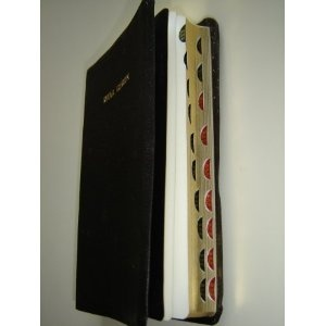 Fante Bible / Leather Bound, with Golden edges and thumb index 57TI / NWOMA KRONKRON Ahyemu Dadaw Nye Fofor No     $99.99