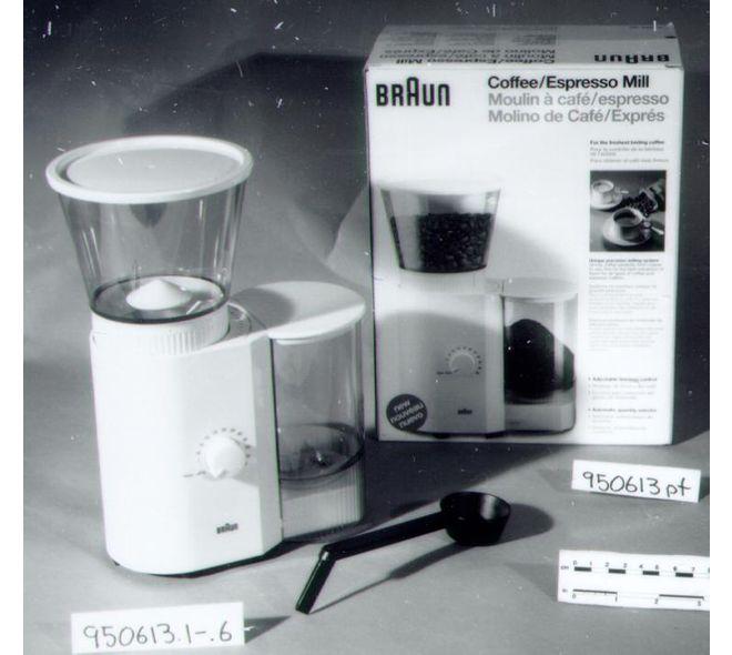 Moulin à café fait par Braun en Espagne