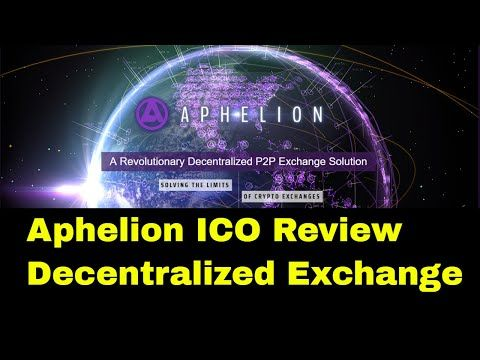 Aphelion ICO Review | Dencentralized Exchange NEO Chain  Review for the Aphelion ICO Aiming to be one of the first NEO tokens Aphelion is building a next generation tokenized distribution mechanism to solve for the challenges plaguing the centralized cryptocurrency exchanges and trading platforms. This protocol will allow for a groundbreaking peer-to-peer smart contract called a Distributed Exchange Asset Ledger (DEAL). An APH DEAL fuels the Aphelion DApp built on the NEO blockchain that is…