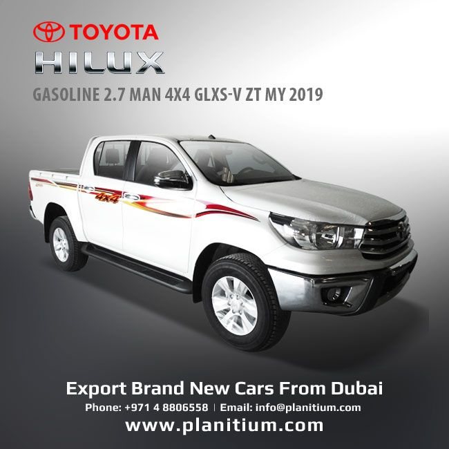 2019 Toyota Hilux Gasoline 4x4 Glxs V Pickups From Dubai Toyota Hilux Toyota Dubai