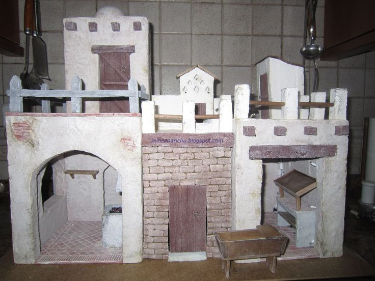 LAS MINIS DE MARICHU: Construcciones Belen