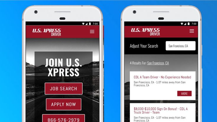 Slicker mobile web experience delivers more truck driver applicants