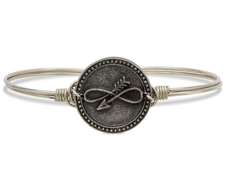 Embrace the Journey Bangle Bracelet A reminder to #embracethejourney, our mantra symbol is the perfect accessory for those embarking on a new adventure.