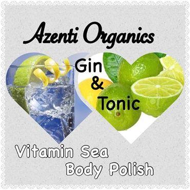 Toning - Gin & Tonic Body Scrub http://shop.azenti-organics.co.uk/category/53312-spa-treatments.aspx