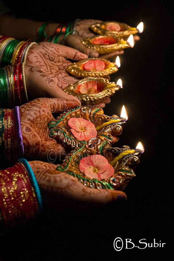 "My Spiritual Aspect : this picture depicts my bright beautiful Indian culture. Our cultures form a lot of who we are, and don't necessarily have a link to our religion. This picture is from a popular Indian festival, Diwali which is means ""the festival of lights"" To me Diwali means spending times with my loved ones and almost like a culmination of the year and the one month fast I observe before Diwali."