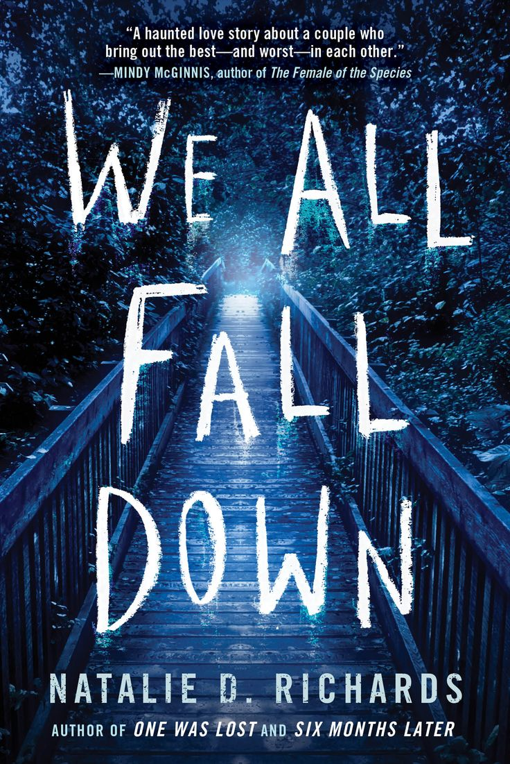 #coverreveal We All Fall Down By Natalie D Richards
