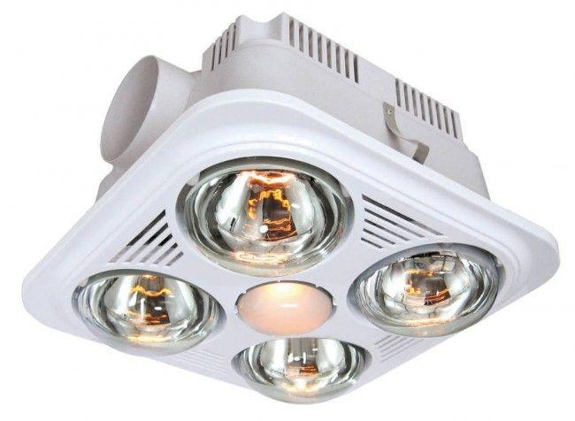 Bathroom Fan With Heat Lamp Bathroom Heat Lamp Heat Lamps Exhaust Fan