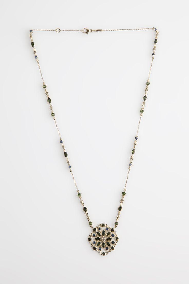 Hania Kuzbari  Arabesque collection  18k gold  diamond, sapphire and tourmaline