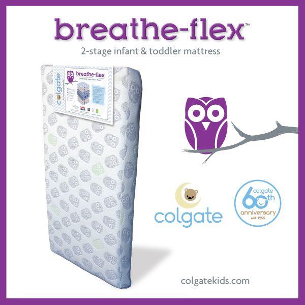 Colgate Breathe Flex 2 Stage Crib Mattress The Innovative