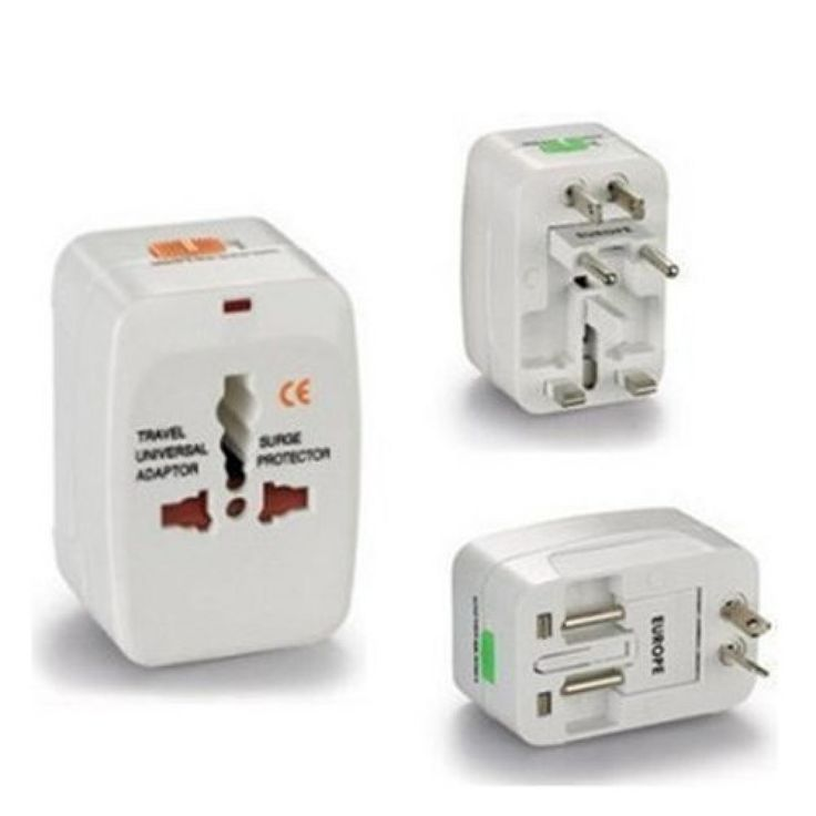 Franzus Fr 22 Domestic Electric Converter 3 Foreign Adapter Plugs 135 600 Electric Converter Adapter Plug Electricity