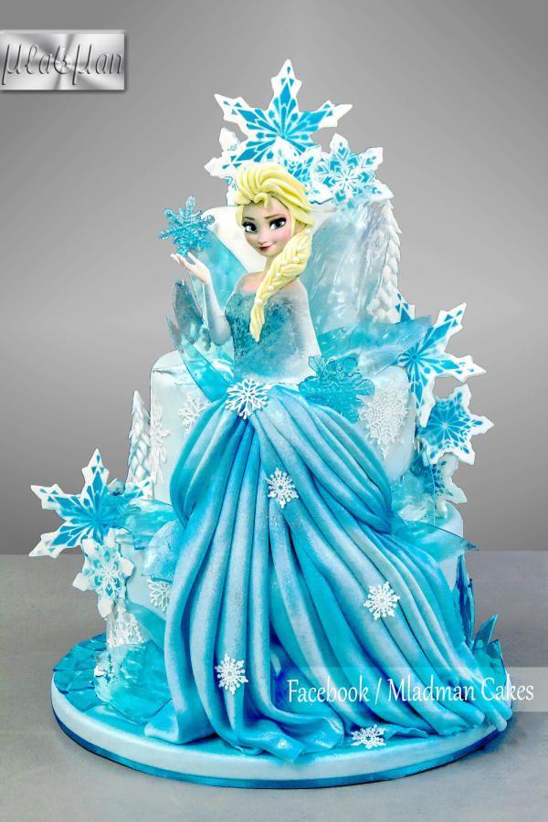 Ice Queen Elsa Cake - Cake by MLADMAN