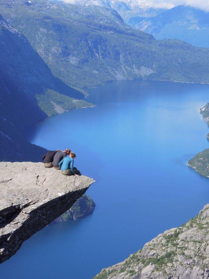 Trolltunga, Norway 2013