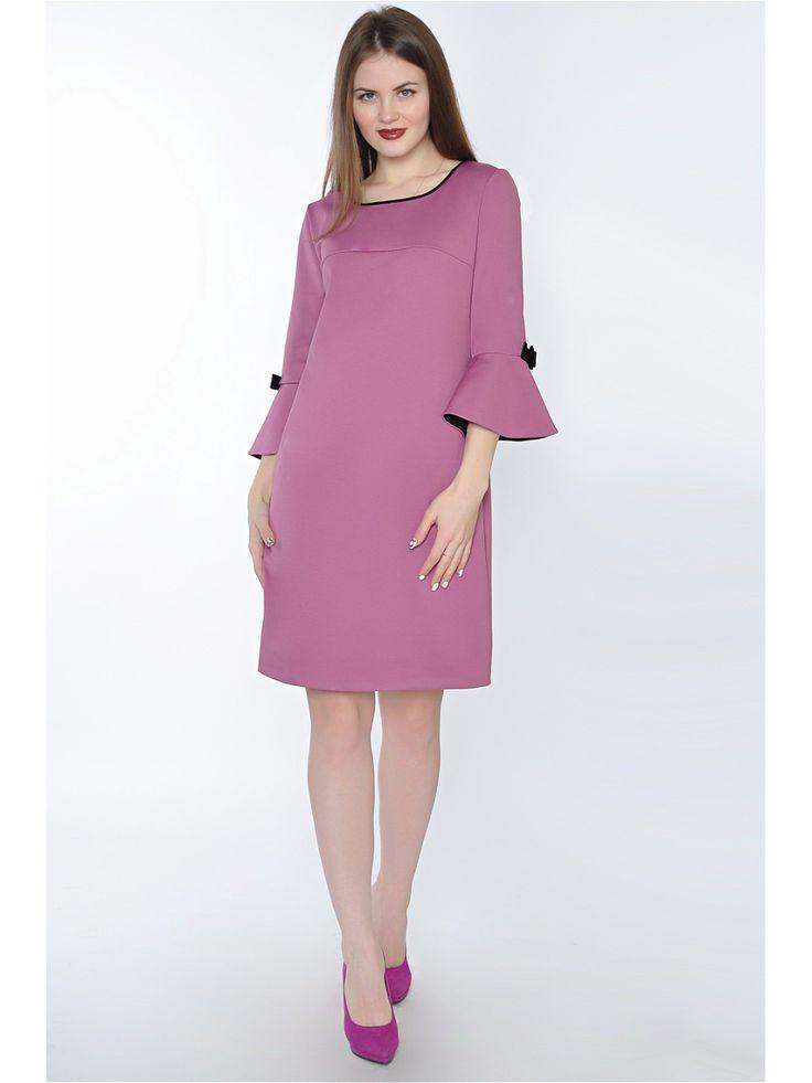 Платье RISE. Цвет сиреневый.