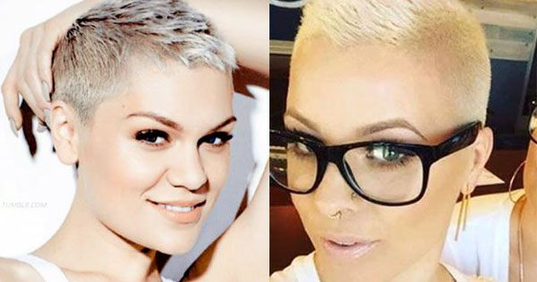 Diese trendigen kurzen Köpfchen sind von der ultrakurzen Blondhaarfrisur von Amber Rose inspiriert worden. Die Frisur steht ihr mega! Gleichzeitig stark und weiblich! Würdest Du in diesem Sommer diesen Look tragen?