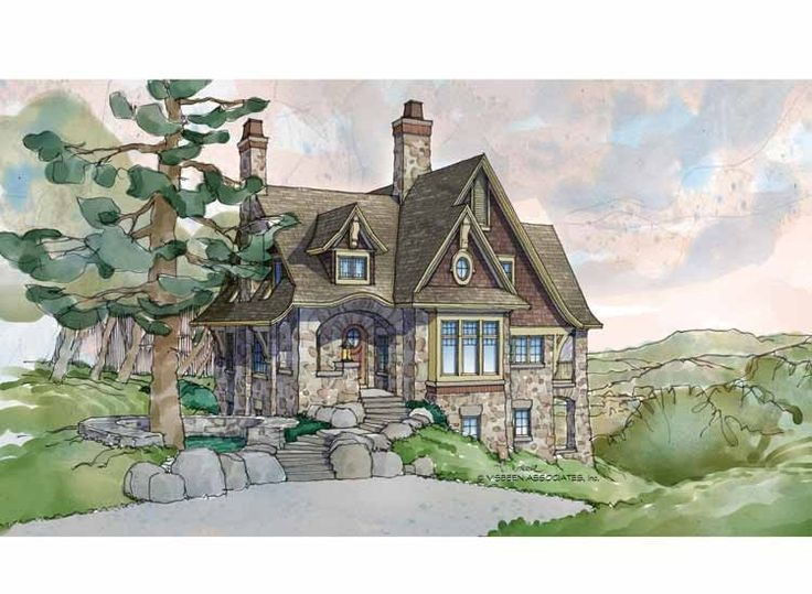 Storybook Cottage House Plans 198 best house ideas & plans images on pinterest | farmhouse style